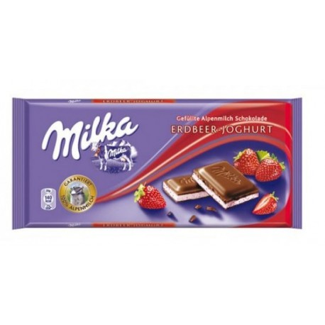 Milka Erdbeer Joghurt / Strawberry Yogurt