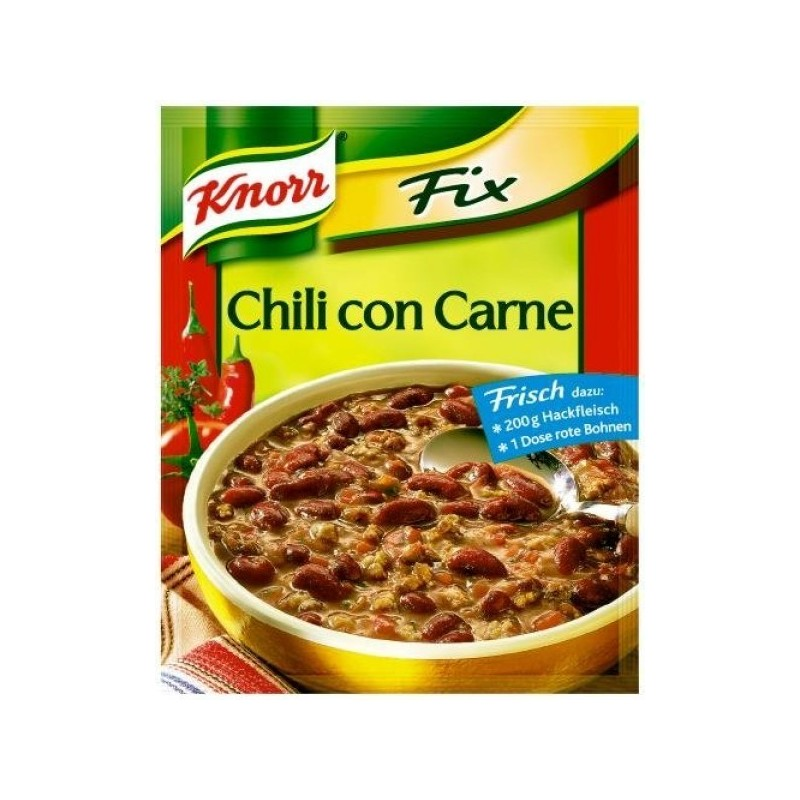 Knorr Fix - Chili con Carne | {Knorr fix 25}