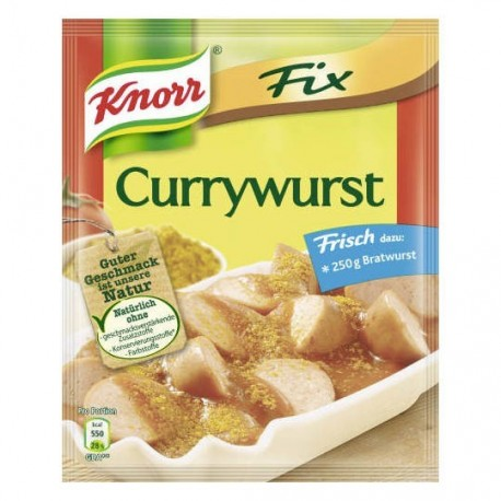 Knorr Fix  - Currywurst
