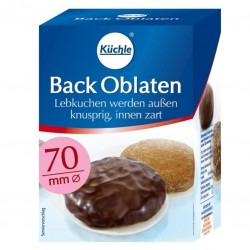 Kuechle®  Backoblaten  70 mm Ø