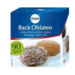Kuechle®  Backoblaten  90 mm Ø