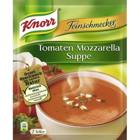 Knorr ®  Feinschmecker Tomaten Mozzarella Suppe