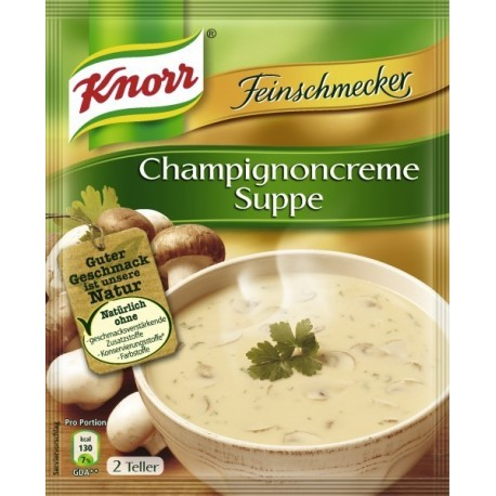 Knorr ®  Feinschmecker Champignoncreme Suppe