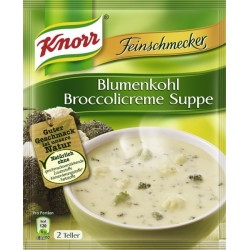 Knorr ®  Feinschmecker Blumenkohl Broccolicreme Suppe