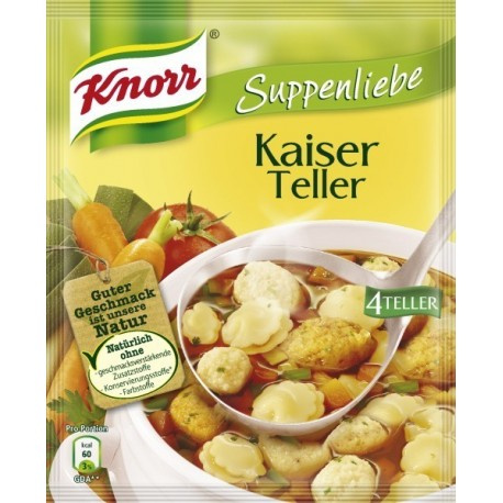 Knorr ®  Suppenliebe Kaiser Teller Suppe