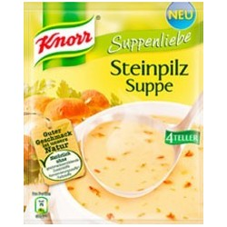 Knorr ®  Suppenliebe Steinpilzsuppe