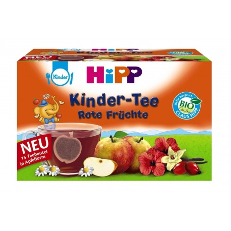 HIPP Kinder Tee Rote Früchte - Red Fruits Tea