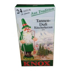 KNOX - Incense Cones - Räucherkerzen - Tannenduft
