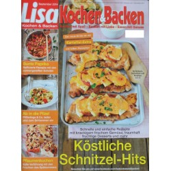 Lisa Kochen & Backen  - german