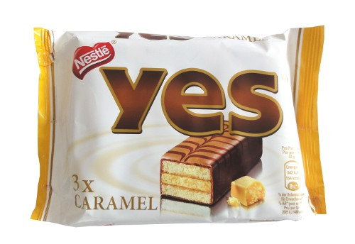 Yes Kuchenriegel Cake Bar Caramel
