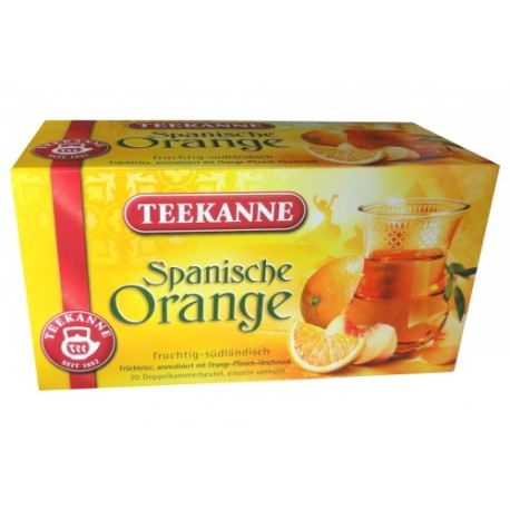 Teekanne Spanische Orange