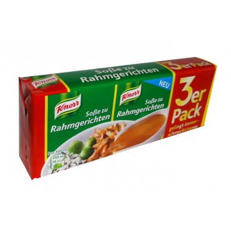Knorr ®  Rahm Sauce / Cream Sauce - 3 pc.