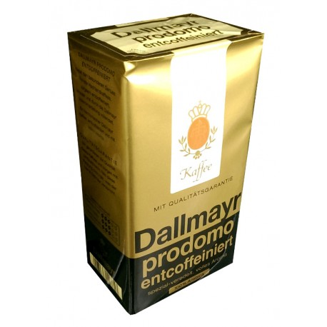 Dallmayr PRODOMO Entcoffeiniert - Ground Coffee