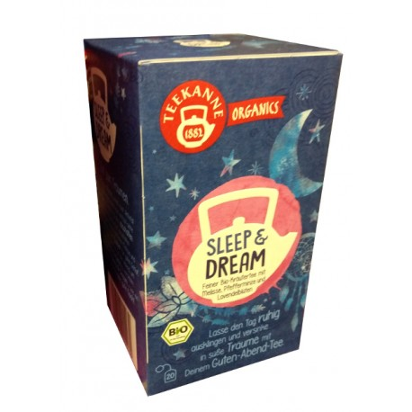 Teekanne Organics – Sleep & Dream